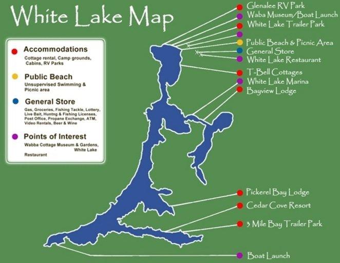 Maps Discover Incredible White Lake Ontario Canada